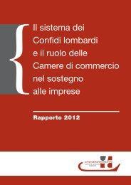 Il sistema dei confidi lombardi - Consorzio Camerale per il Credito e ...