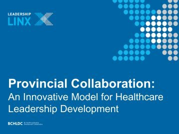 Provincial Collaboration