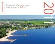 Rapport de développement durable pour le Québec - Rio Tinto Alcan