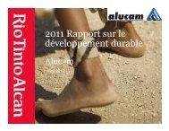 2011 Rapport sur le développement durable