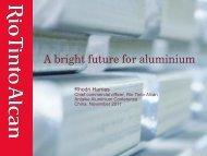 A bright future for aluminium
