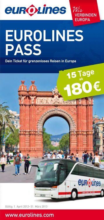 Eurolines Pass - Eurolines|Touring|EUROPABUS