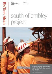 south of embley project