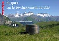 2011 Saint-Jean-de-Maurienne Rapport sur le ... - Rio Tinto Alcan