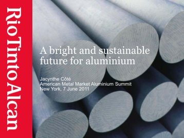 future for aluminium
