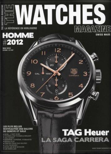 The Watches Magazine Mai 2012 - Christophe Claret