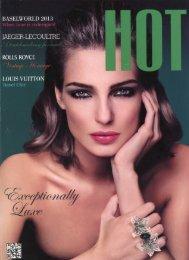 HOT Magazine September 2013 - Christophe Claret