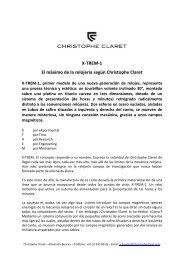 X-TREM-1 El máximo de la relojería según Christophe Claret