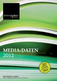 MEDIA-DATEN 2012 - Immobilien Magazin