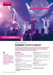 l'été à ramonville ramonday, festif et gratuit - Mairie de Ramonville ...
