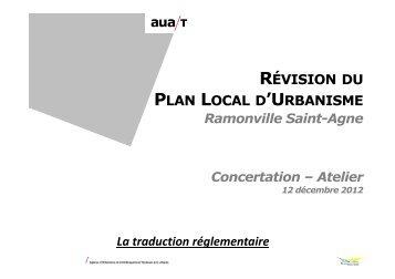 RÉVISION PLAN LOCAL D'URBANISME