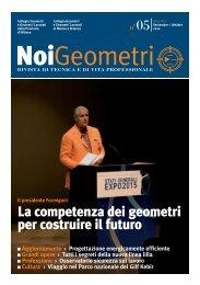 La competenza dei geometri per costruire il futuro