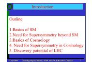 5 Discovery potential of LHC