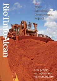 2007 Sustainable Development Report