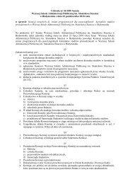 Uchwała nr 36 - Wyższa Szkoła Administracji Publicznej w ...