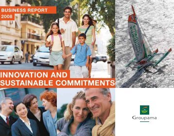 innovation and SUSTAINABLE COMMITMENTS