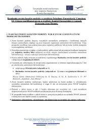 Regulamin zwrotu kosztów - Wyższa Szkoła Administracji Publicznej ...