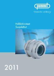 HSK-standardi holkkitiivisteet - Hummel AG