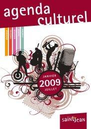 Agenda 2009 1 - Palumbo - Saint-Jean