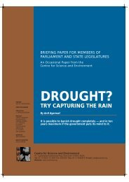 DROUGHT? - Centre for Science and Environment
