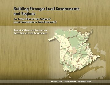 Building Stronger Local Governments and Regions