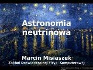 Astronomia neutrinowa