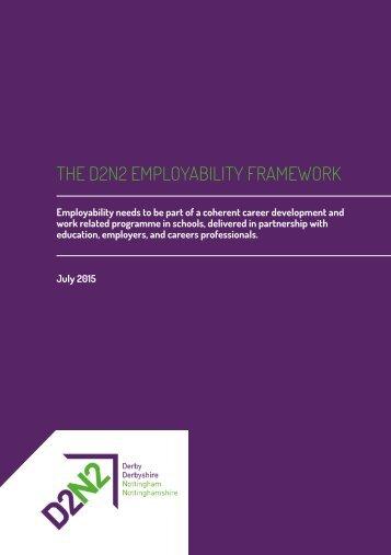 THE D2N2 EMPLOYABILITY FRAMEWORK