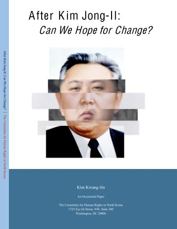 After Kim Jong-il.pdf - US Committee for Human Rights in North Korea