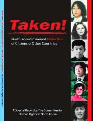 Taken! - US Committee for Human Rights in North Korea