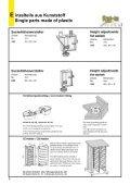 KUNSTSTOFFTEILE AUSRICHTBESCHLAG - Seite 6