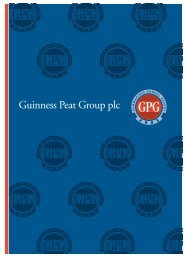 GPG Summarised Report 2003 - Guinness Peat Group plc