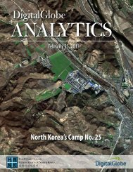 DigitalGlobe - US Committee for Human Rights in North Korea