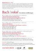 Bach ¦ vokal - Page 2
