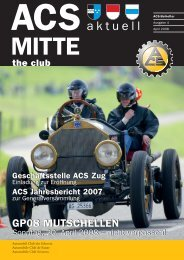 Sonntag, 20. April 2008 www.gpmutschellen.ch - ACS Automobil ...