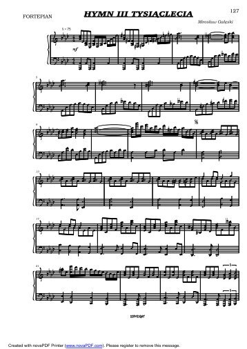 Hymn III Tysi - pzchio.bydgoszcz.eu