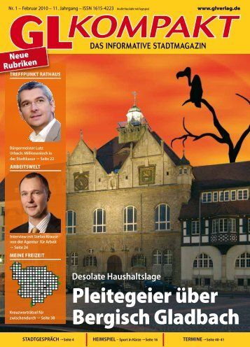 Pleitegeier über Bergisch Gladbach