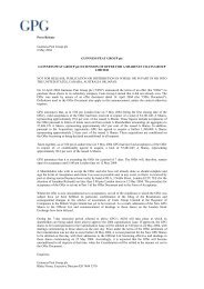 Press Release Guinness Peat Group plc 6 May 2004 GUINNESS ...