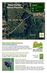 Maas Map 6-2011 - Land Conservancy of West Michigan