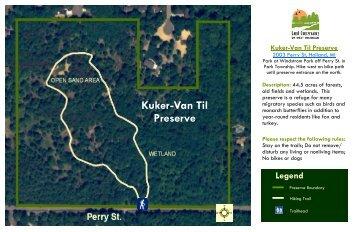 Kuker VanTil Map 6-2011 - Land Conservancy of West Michigan