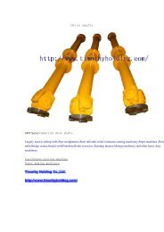 Industrial drive shafts.pdf