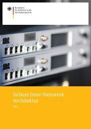 Sichere Inter-Netzwerk Architektur - Bundesamt für Sicherheit in der ...