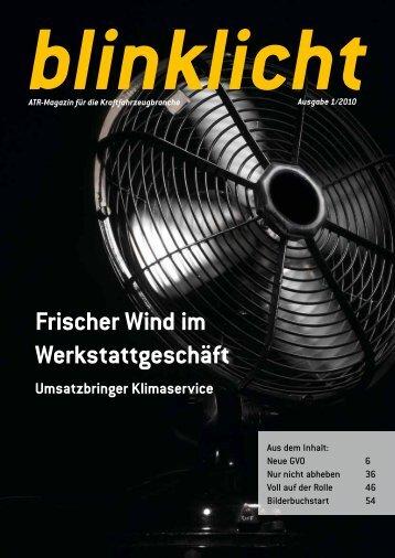 Frischer Wind im Werkstattgeschäft - atr.de