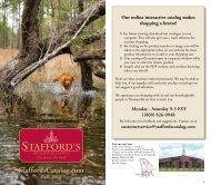 2013 Catalog - StaffordsCatalog.com