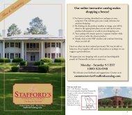 Stafford's Stafford's Stafford's Stafford's