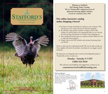 Stafford's Stafford's