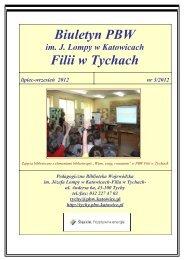 Biuletyn - Pedagogiczna Biblioteka Wojewódzka w Katowicach