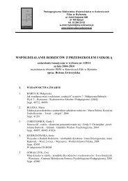 plik pdf - Pedagogiczna Biblioteka Wojewódzka w Katowicach