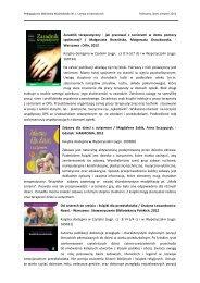 Lipiec - sierpień 2013 - Pedagogiczna Biblioteka Wojewódzka w ...