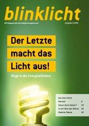 Wege in die Energie effizienz - atr.de