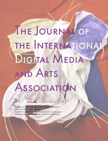 The Journal the International Digital Media Arts Association